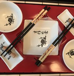 Rulou și set de sushi 🍣