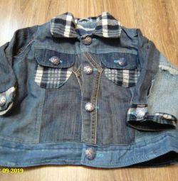 комплект(джинсовка и брюки)