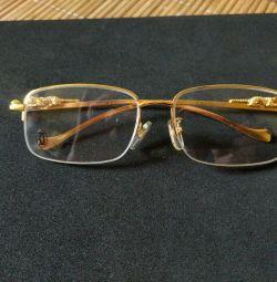 Cartier Gözlük Çerçevesi (Yeni ve Orijinal)