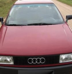 Many parts for the Audi 80