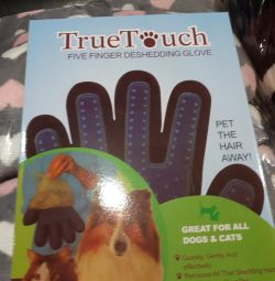 Mănuși pentru pieptănarea lânii în animale
