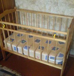 кроватка детская СССР