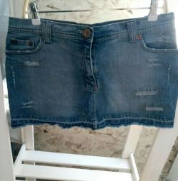 A new denim skirt.