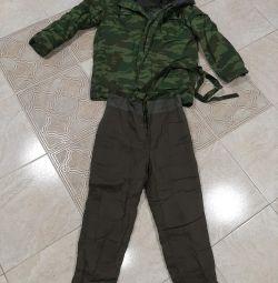 Military cotton suit