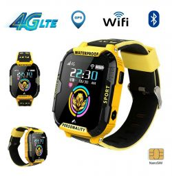 🔥 Kids Watches 4G video chat GPS WiFi IP67 Rus 2019