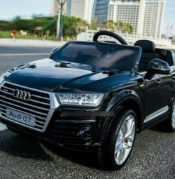 Electric AUDI Q7 Licensed 2 * 35W