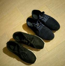 Erkekler 2pairs için spor ayakkabı