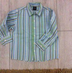 Gömlekler H & M, NEXT, 3-4 yaşında
