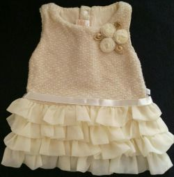Dress for a girl 6 months. Little kangaroos