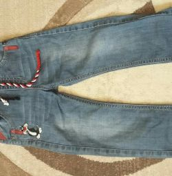 Jeans are almost new
