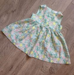 Elbise h & m yeşil
