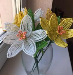 Beaded Daffodils