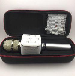 Wireless microphone-karaoke Q7s