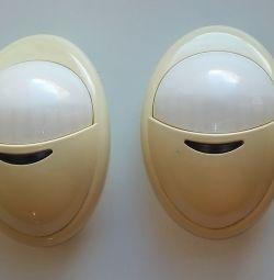 Ογκομετρικοί ανιχνευτές ασφαλείας (αισθητήρες κίνησης).
