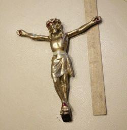 crucifix masiv, filetat la st