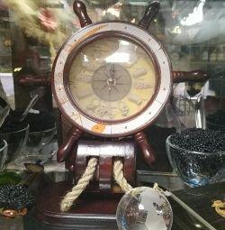 Watch steering wheel