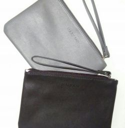 Stylish clutch with a strap.