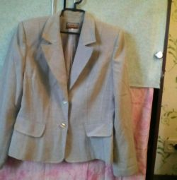 Піджак сірого кольору