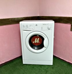 Narrow Indesit washing machine. Guarantee, Delivery