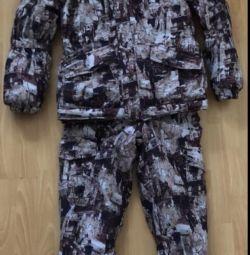 New men's winter jumpsuit