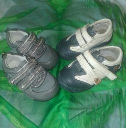 Pantofi pentru băiat 21 r