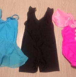 Gymnastic swimsuits