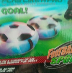 Светодиодный мяч,новый от батареек
