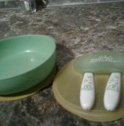 Тарелочка для малышей