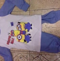 Pijamale pentru copii, minion, patrulă, patrulă pentru cățeluși