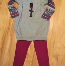 Set of leggings and dress-tunic Mayoral 104