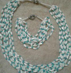 Set de mamă de perle ..