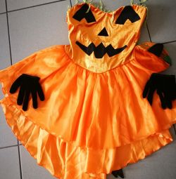 Costume Fancy Dress, Pumpkin