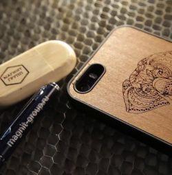 iphone'da oyulmuş kapakları