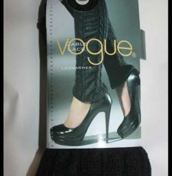 Leggings New Vogue Finland black acrylic lace p