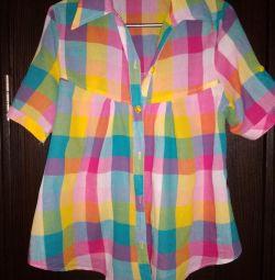 Bright shirt, 46-50r