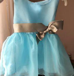 Φόρεμα για μια μικρή πριγκίπισσα. Νέο!