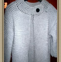 Female handmade cardigan