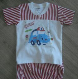 Suit / set for children (shorts and T-shirt)