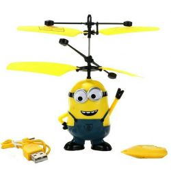 Toy flying minion with remote control