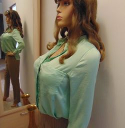 Блузка - сорочка Шовковий / Іспанія /