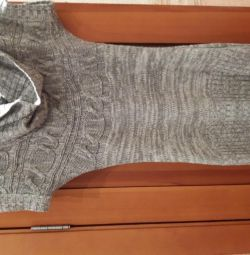 Knitted Elastic Sweater