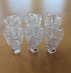 Κρύσταλλο γυαλιών 6 τεμ