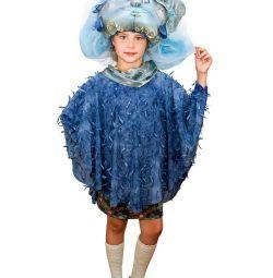 Costum de carnaval ploaie, nori
