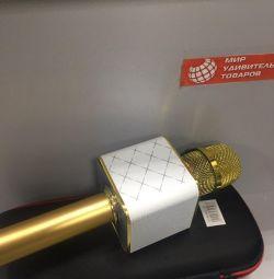 Microfon Q7 galben