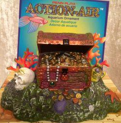 Treasure Chest pentru acvarii 12 * h 7