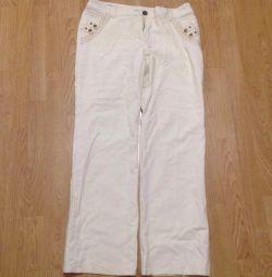 Pantaloni pentru femei, inlaine.