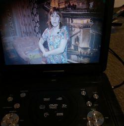 Portable DVD & LCD TV Dvb-t2