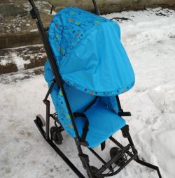 Kızak Tekerlekli Sandalyesi