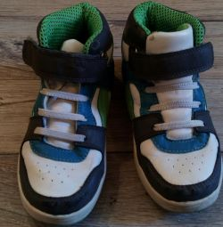 Baby high sneakers spring-autumn
