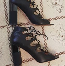 Παπούτσια -carlo pazzini, nat. νέο δέρμα